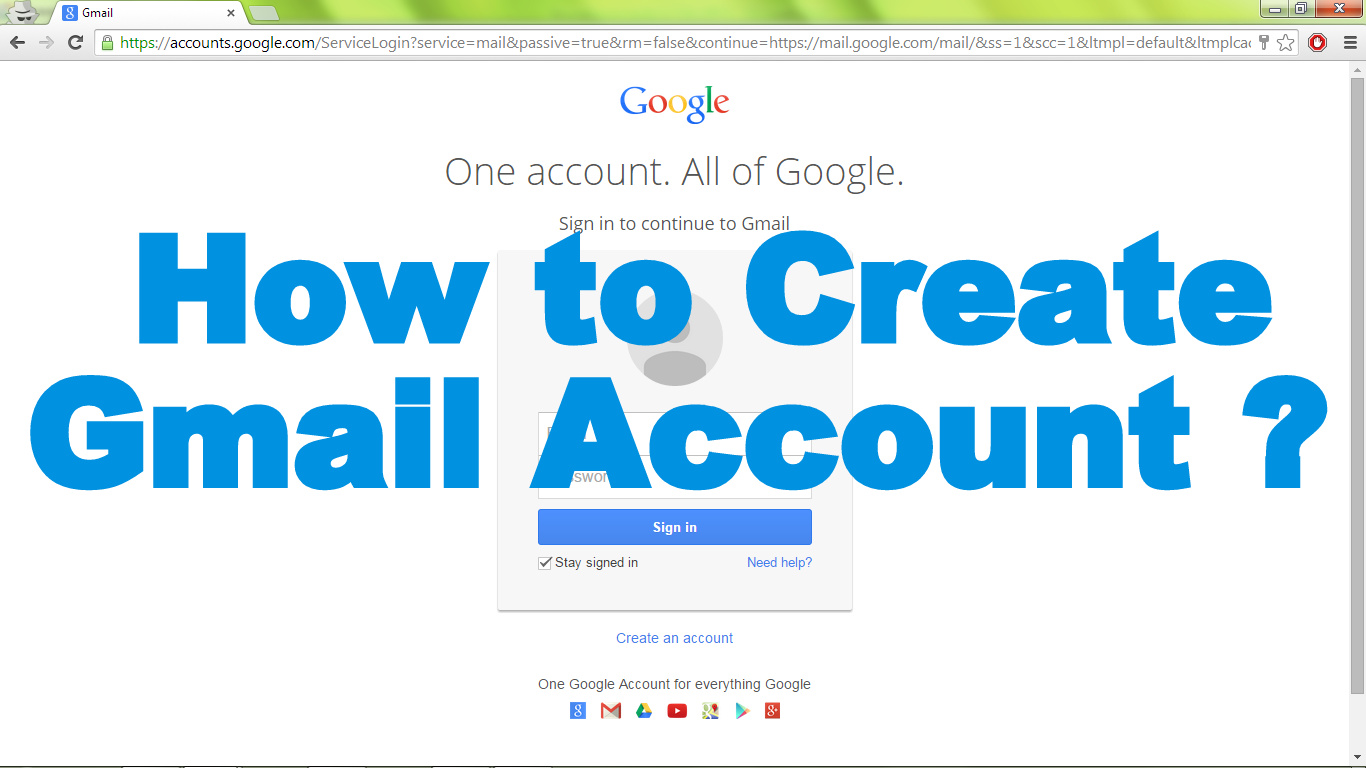 How to create Gmail Account for your Business for free of cost